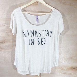 Alya   Namast'ay In Bed Slouchy Tee